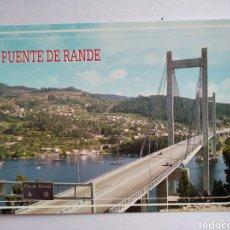 Cartes Postales: POSTAL REDONDELA PONTEVEDRA PUENTE DE RANDE ED ARRIBAS. Lote 191990316