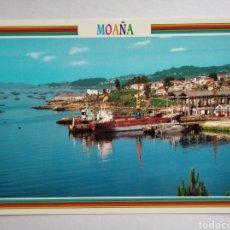 Postales: POSTAL MOAÑA PONTEVEDRA VISTA PARCIAL ED ARRIBAS. Lote 191999280