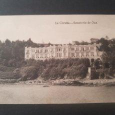 Postales: POSTAL LA CORUÑA. SANATORIO DE OZA. GALICIA. FOTO TEIGEIRO-PARDO-REGUERA. ENRIQUETA COMAS. TABACOS.. Lote 192055846