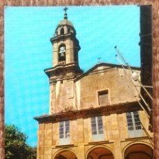 Postales: SANTA MARTA DE ORTIGUEIRA - LA CORUÑA - IGLESIA PARROQUIAL. Lote 192131667