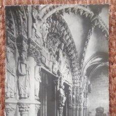 Postales: SANTIAGO DE COMPOSTELA - PORTICO DE LA GLORIA. Lote 192132533