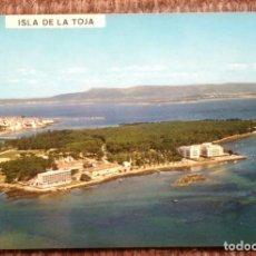 Postales: ISLA DE LA TOJA - PONTEVEDRA. Lote 192132693