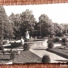 Postales: LUGO - PARQUE ROSALIA DE CASTRO. Lote 192133067
