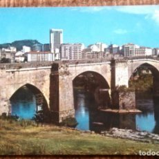 Postales: ORENSE - PUENTE ROMANO. Lote 192133135