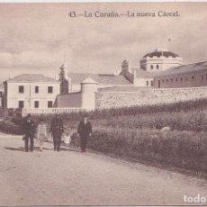 Postales: LA CORUÑA - LA NUEVA CARCEL - HELIOTIPIA DE KALLMEYER Y GAUTIER - MADRID. Lote 192636248