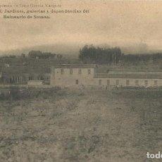 Postales: POSTAL AÑOS 20 VERIN ORENSE OURENSE GALICIA BALNEARIO DE SOUSAS. Lote 192956712