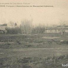Postales: POSTAL AÑOS 20 VERIN ORENSE OURENSE GALICIA BALNEARIO MANANTIAL CABREIROA. Lote 192957086
