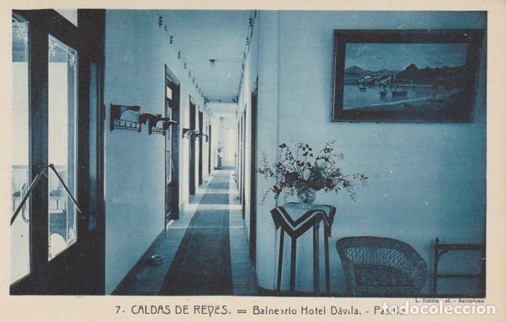 Postales: 1921 LOTE 5 POSTALES HOTEL DAVILA CALDAS DE REYES REIS PONTEVEDRA GALICIA ROISIN - Foto 5 - 192960336