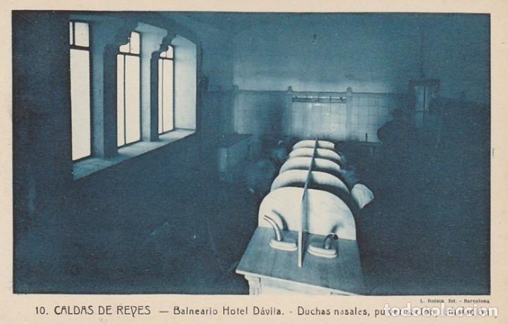 Postales: 1921 LOTE 5 POSTALES HOTEL DAVILA CALDAS DE REYES REIS PONTEVEDRA GALICIA ROISIN - Foto 2 - 192960336