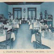 Postales: 1921 LOTE 5 POSTALES HOTEL DAVILA CALDAS DE REYES REIS PONTEVEDRA GALICIA ROISIN. Lote 192960336