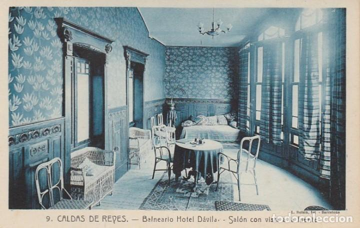 Postales: 1921 LOTE 5 POSTALES HOTEL DAVILA CALDAS DE REYES REIS PONTEVEDRA GALICIA ROISIN - Foto 3 - 192960336