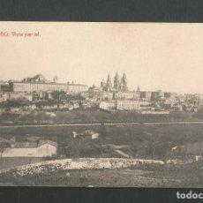 Cartes Postales: POSTAL CIRCULADA - SANTIAGO DE COMPOSTELA - VISTA PARCIAL - EDITA THOMAS. Lote 193314592
