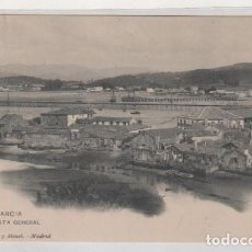 Postales: VILLAGARCIA VISTA GENERAL. 1589 HUASER Y MENET. REVERSO DIVIDIDO. SIN CIRCULAR. . Lote 194006858