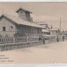Postales: VILLAGARCIA EL BALNEARIO. 1590 HUASER Y MENET. REVERSO DIVIDIDO. SIN CIRCULAR. . Lote 194007061
