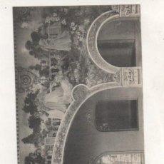 Postales: BALNEARIO DE LA TOJA. PONTEVEDRA. 21- 22 GRAN HOTEL COMEDOR. LA SERENATA, PINTURA MURAL PULIDO.. Lote 194007687