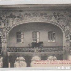 Postales: BALNEARIO DE LA TOJA. PONTEVEDRA. 35 GRAN HOTEL COMEDOR, UNA GALERÍA DEL PRINCIPAL. SIN CIRCULAR.. Lote 194008112