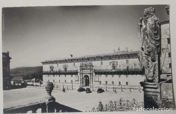 SANTIAGO DE COMPOSTELA -HOSPITAL REAL FACHADA SIGLO XVI (Postales - España - Galicia Antigua (hasta 1939))