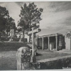 Postales: PONTEVEDRA- LA GUARDIA MONTE SANTA TECLA EL PULPITO. Lote 194107230