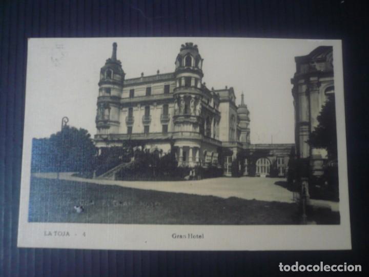 LA TOJA-GRAN HOTEL (Postales - España - Galicia Antigua (hasta 1939))