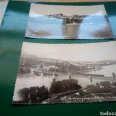 Postales: DOS ANTIGUAS POSTALES DE TUYA (PONTEVEDRA). AÑOS 50. Lote 194196891