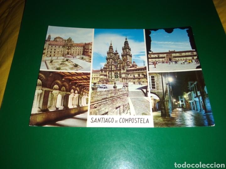 ANTIGUA POSTAL DE SANTIAGO DE COMPOSTELA. AÑOS 60 (Postales - España - Galicia Moderna (desde 1940))