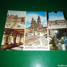 Postales: ANTIGUA POSTAL DE SANTIAGO DE COMPOSTELA. AÑOS 60. Lote 194237157