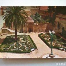 Postales: POSTAL -- ORENSE - FUENTE DE LAS BURGAS Y JARDINES -- SIN USO --. Lote 194271453