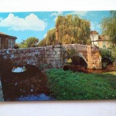 Postales: POSTAL -- CALDAS DE REYES - PUENTE ROMANO -- ESCRITA --. Lote 194271793