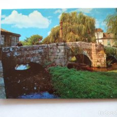 Postales: POSTAL -- CALDAS DE REYES - PUENTE ROMANO -- ESCRITA --. Lote 194272447
