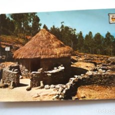 Postales: POSTAL -- MONTE DE SANTA TECLA - POBLADO CELTA -- ESCRITA --. Lote 194273257