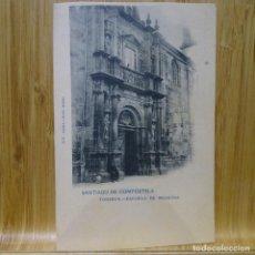 Postales: POSTAL DE SANTIAGO DE COMPOSTELA.FONSECA-ESCUELA DE MEDICINA.HAUSER Y MENET.579.. Lote 194291702