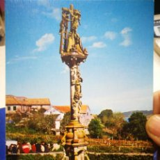 Postales: POSTAL CANGAS DE MORRAZO PONTEVEDRA CRUCERO DE HIP N 6 ARRIBAS. Lote 194327701