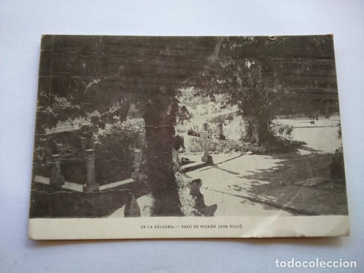 POSTAL -- PAZO DE NIGRAN -- CIRCULADA -- (Postales - España - Galicia Moderna (desde 1940))