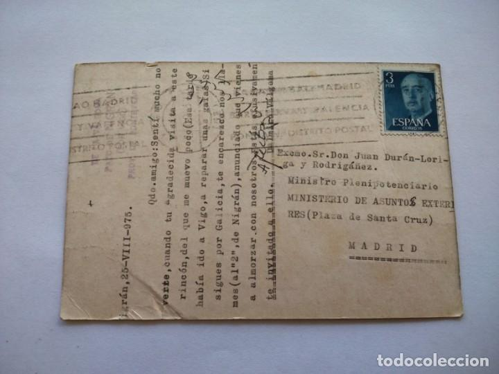 Postales: POSTAL -- PAZO DE NIGRAN -- CIRCULADA -- - Foto 2 - 194332821