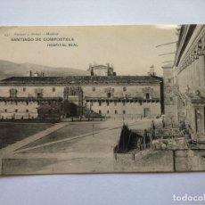 Postales: POSTAL -- SANTIAGO DE COMPOSTELA - HOSPITAL REAL -- HAUSER Y MENET -- SIN USO --. Lote 194333309
