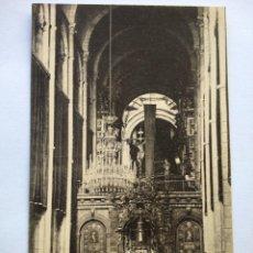 Postales: POSTAL -- SANTIAGO DE COMPOSTELA - CATEDRAL. LA SOLEDAD -- SIN USO --. Lote 194333389