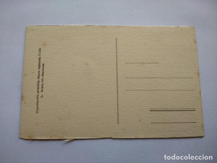 Postales: POSTAL -- SANTIAGO DE COMPOSTELA - CATEDRAL. CORO Y ALTAR MAYOR -- SIN USO -- - Foto 2 - 194333556