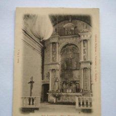 Postales: POSTAL -- SANTIAGO DE COMPOSTELA - SAN LORENZO. ALTAR MAYOR --. Lote 194333661