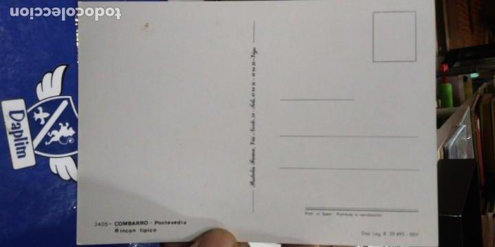 Postales: Postal Combarro Pontevedra Rincon tipico N 3405 FAMA - Foto 2 - 194337926