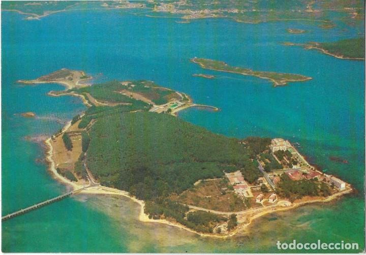 == P1506 - POSTAL - ISLA DE LA TOJA - VISTA AEREA (Postales - España - Galicia Moderna (desde 1940))