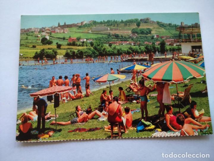 POSTAL -- LUGO - LA PLAYA FLUVIAL -- SIN USO -- (Postales - España - Galicia Moderna (desde 1940))