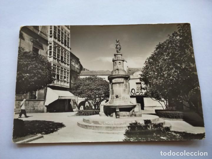 POSTAL -- VIGO - Nº 38 -- PLAZA DE LA PRINCESA -- CIRCULADA -- (Postales - España - Galicia Moderna (desde 1940))
