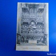 Postales: ZARAGOZA ALTAR MAYOR DE LA SEO FOTOTIPIA L. ESCOLA ZARAGOZA Nº 4. Lote 194507687