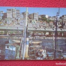 Postales: POSTAL POST CARD GALICIA PONTEVEDRA VIGO EL BERBÉS PUERTO PESQUERO PORT DE PÊCHE FISHING...VER FOTOS. Lote 194566251