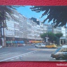 Postales: POSTAL POST CARD GALICIA LA CORUÑA AVENIDA DE LA MARINA AVENUE COCHES RENAULT SEAT PANDA ?.......VER. Lote 194581226