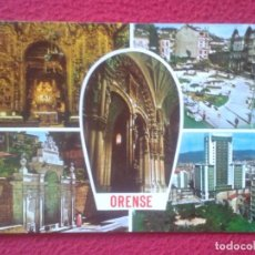 Postales: POSTAL POST CARD GALICIA ORENSE OURENSE DIVERSAS VISTAS VARIAS Nº 800 EDICIONES PARIS. VER FOTO...... Lote 194581918