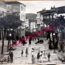 Postales: POSTAL FOTOGRAFICA DE LA CORUÑA, CIRCULADA EN 1961, CORUNNA 4312, MUY RARA. Lote 194584615