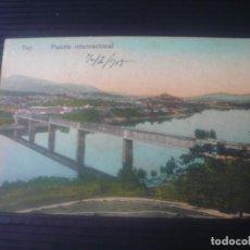 Postales: TUY-PUENTE INTERNACIONAL. Lote 194600800
