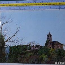 Postales: POSTAL DE LA CORUÑA. AÑO 1980. PONTEDEUME COLEGIATA DE CAAVEIRO DESDE EL RIO EUME. 21 ESCUDO . 2713. Lote 194638808