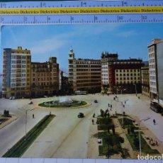 Postales: POSTAL DE LA CORUÑA. AÑO 1962. EL FERROL PLAZA DE ESPAÑA. 2002 ARRIBAS. 2718. Lote 194639045